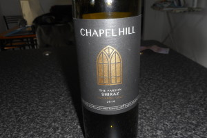 Chapel Hill 2014 Shiraz – The Parson