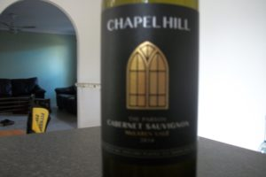 Chapel Hill 2014 Cabernet Sauvignon – The Parson