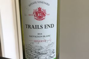 2014 – Trails End Sauvignon Blanc Reserve