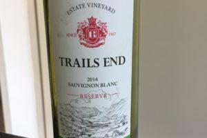 2014 – Trails End Sauvignon Blanc Reserve
